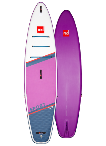 "Red Paddle Co. 11'3"" Red Sport MSL 2021 Special Edition"