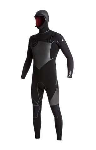 Quiksilver Syncro Plus 5/4/3mm Hooded Wetsuit -  Chest Zip
