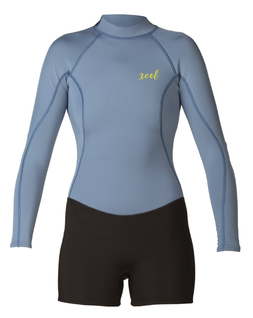 Xcel Women's Axis 2/1mm L/S Spring Wetsuit - Back Zip