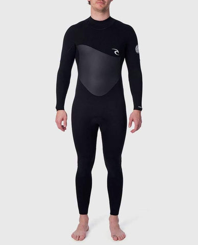 Rip Curl Omega 4/3mm Wetsuit - Back Zip