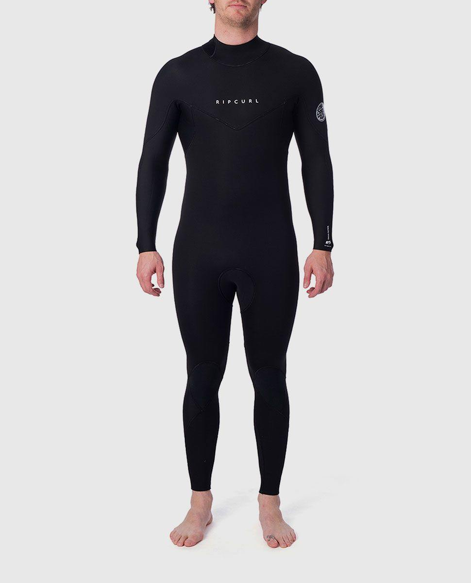Rip Curl Dawn Patrol 4/3mm Steamer Wetsuit - Back Zip