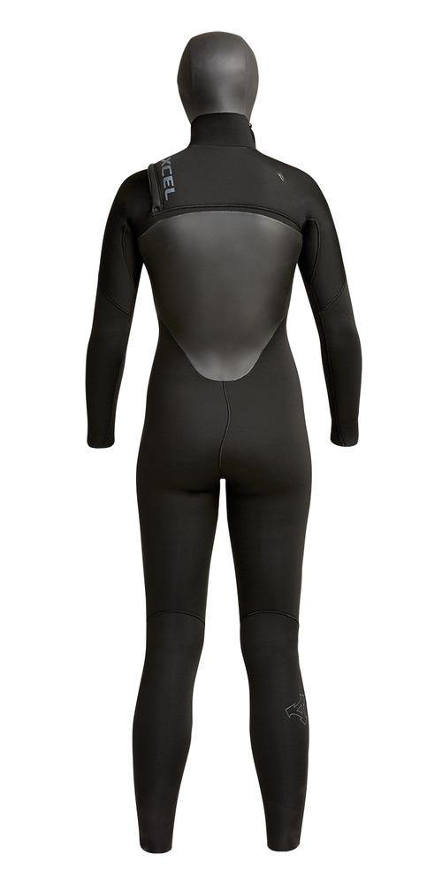Xcel Womens Axis 5/4mm Hooded Wetsuit - Chest Zip