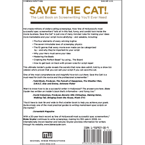 Save the Cat!® <br>The Last Book on Screenwriting You'll Ever Need