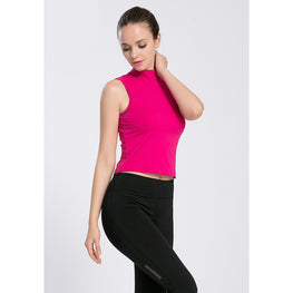 Solid Color Padded Tank Top - Fits4Yoga