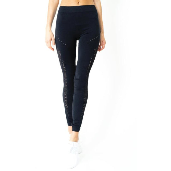 SALE! Milano Seamless Legging - Black [MADE IN ITALY]