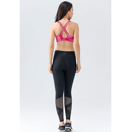 Medium Support Cross Over Bra - Fits4Yoga