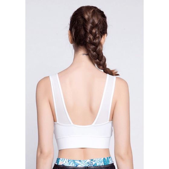 Breathable Crop Top - Fits4Yoga