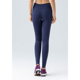 Double-layered Waist Elastic Tights - Fits4Yoga