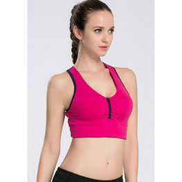 Non-Slip Cross Strap Bra - Fits4Yoga