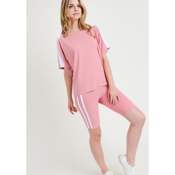 Yoga Striped Top (In Store Only) | Fits4Yoga