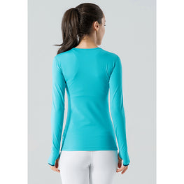 Soft Quick-dry  Long-sleeve Tee - Fits4Yoga