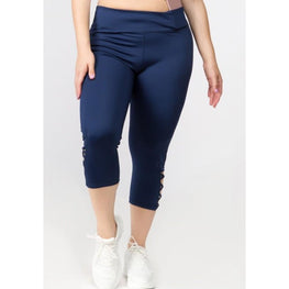 Yoga Capri Cutout Leggings (In Store Only) | Fits4Yoga