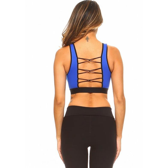 Loop Back Sports Bra | Fits4Yoga