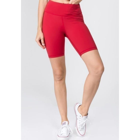 Yoga High Rise Matt Shorts (In Store Only) | Fits4Yoga