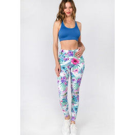 Flower Garden Leggings | Fits4Yoga