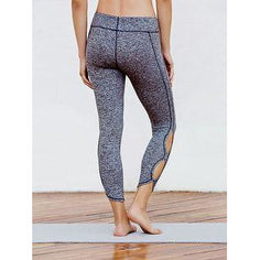 Hollow Out Compression Yoga Leggings - Fits4Yoga