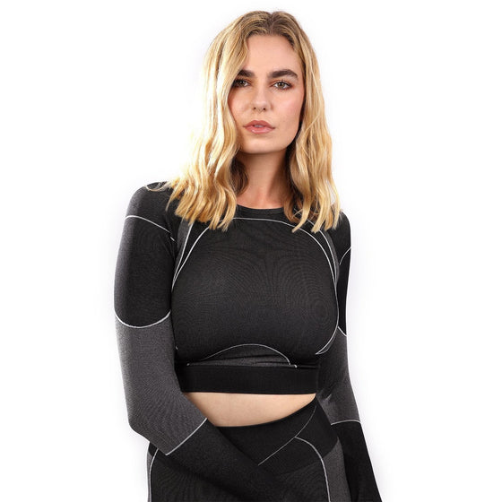 Escolta Seamless Sports Top - Black