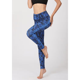 Pattern Print Quick Dry Pants - Fits4Yoga