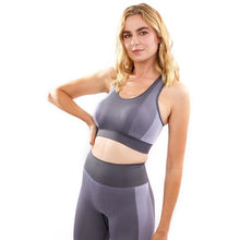 Arleta Seamless Sports Bra - Grey