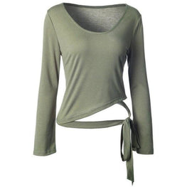 Scoop Neck Wrap - Fits4Yoga