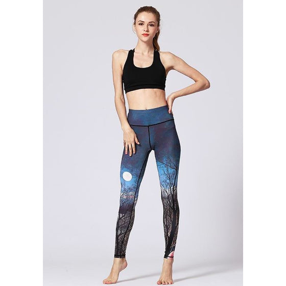 Full Moon Yoga Leggings - Fits4Yoga