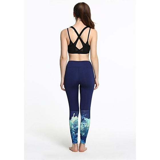 Yoga Compression Ankle Length Leggings - Fits4Yoga
