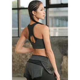 Racer Back Sports Bra - Fits4Yoga