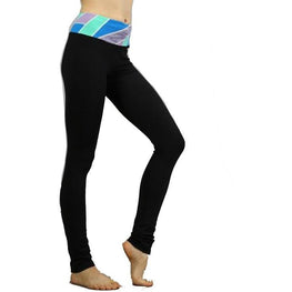 Color Waist Stretch Pants with Hidden Pocket | Fits4Yoga