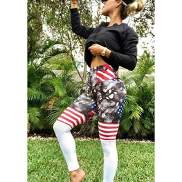 High Waist Leopard Yoga Leggings | Fits4Yoga