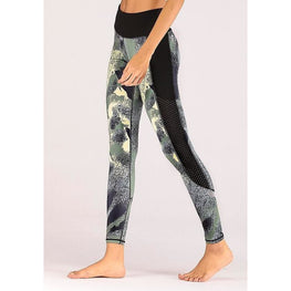 Night Reflection Yoga Pants | Fits4Yoga