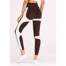 High Waist Coffee Yoga Pants | Fits4Yoga