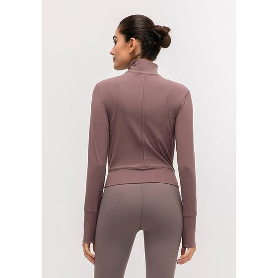 Slim Yoga Wear Jacket | Fits4Yoga