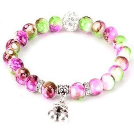 Cherry Bead Yoga Bracelet - Fits4Yoga