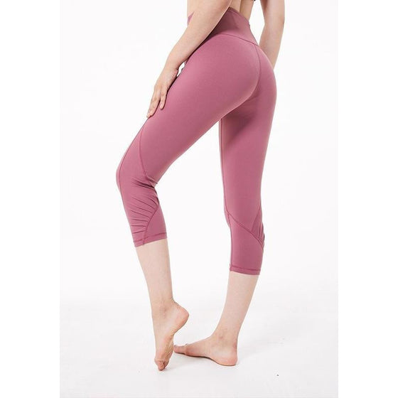 Crop Power Flex Yoga Capris | Fits4Yoga