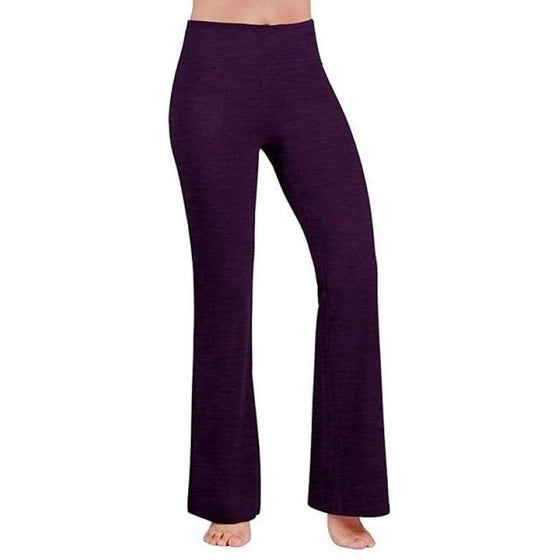 Power Flare Boot Cut Yoga Pants Tummy Control Yoga Pants | Fits4Yoga