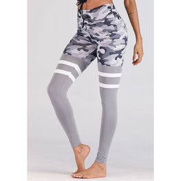 Camouflage Printed Fashion Leggings | Fits4Yoga