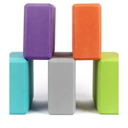 Yoga Block Colorful Foam Block Brick | Fits4Yoga