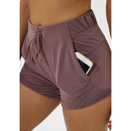 Tummy Control Yoga Shorts with Pockets