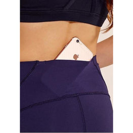 Yoga Shorts with Back Zipper Pocket | Fits4Yoga