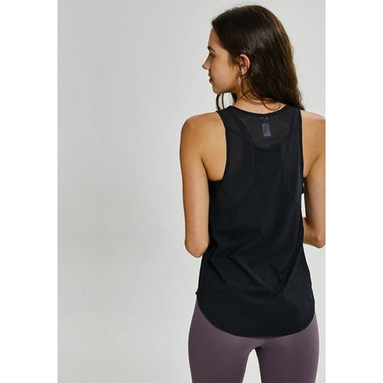 Sleeveless Yoga Tank Top | Fits4Yoga