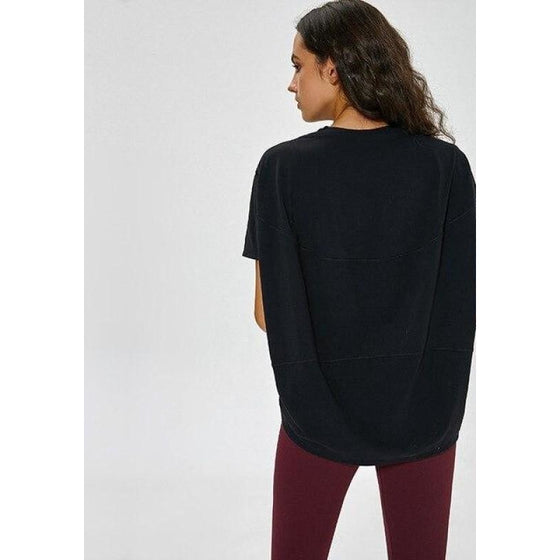 Loose Fit High Low T Shirt | Fits4Yoga
