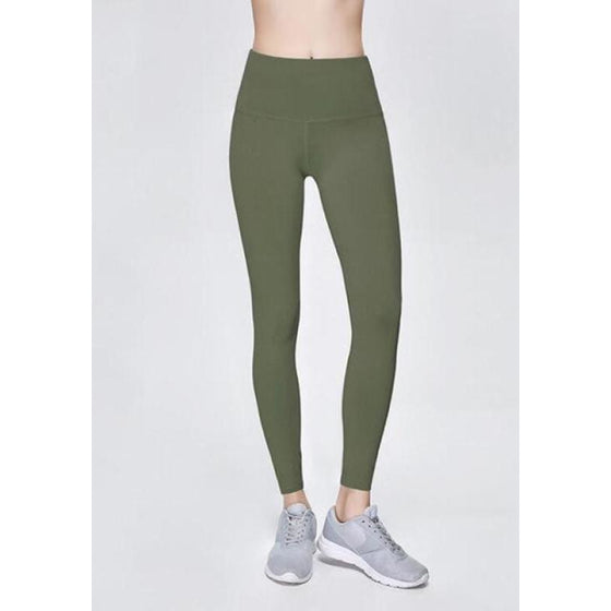 High Waist Stretch Leggings (Plus- Size) | Susie