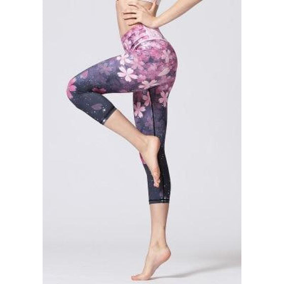 Skyloom Printed Yoga Pants | Fits4Yoga