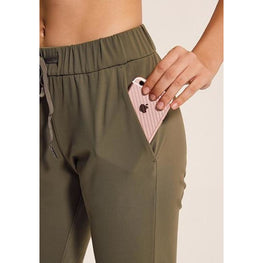 Simple Yoga Capris with pockets