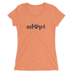 Adoption Support Tee Orange Triblend / S