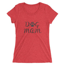 Dog Mom Tri-Blend T-Shirt Red Triblend / S