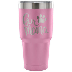 Fur Mama Tumbler - Travel Cup Coffee Mug Light Purple