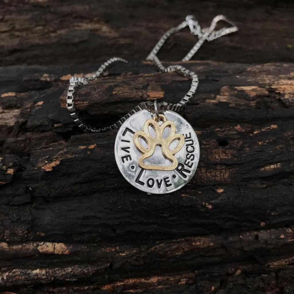 Live Love Rescue Necklace Necklace