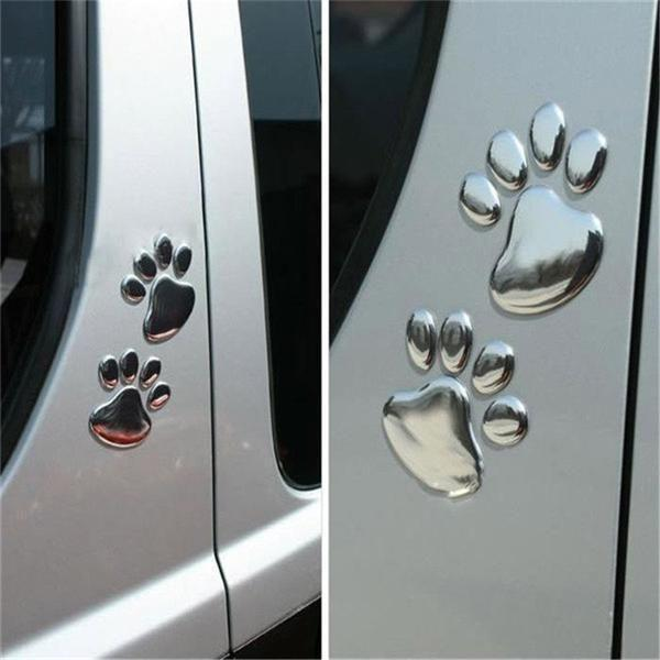 Paw Print Car Decal Set Car Decal
