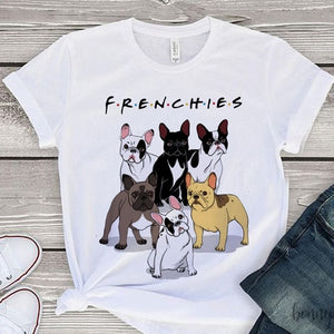"""Frenchies"" T-Shirt"